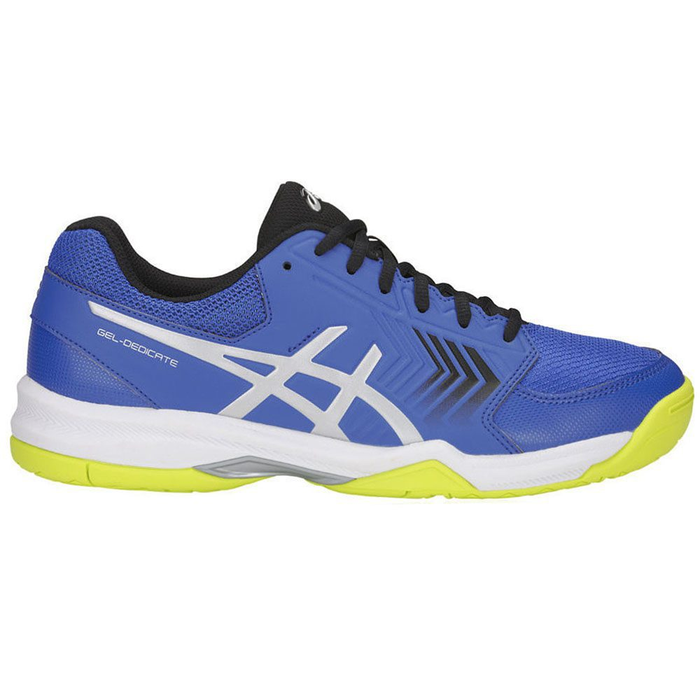 Details zu ASICS Men's Gel Dedicate 5 Illusion BlueSilver Tennis Shoes E707Y.409 NEW