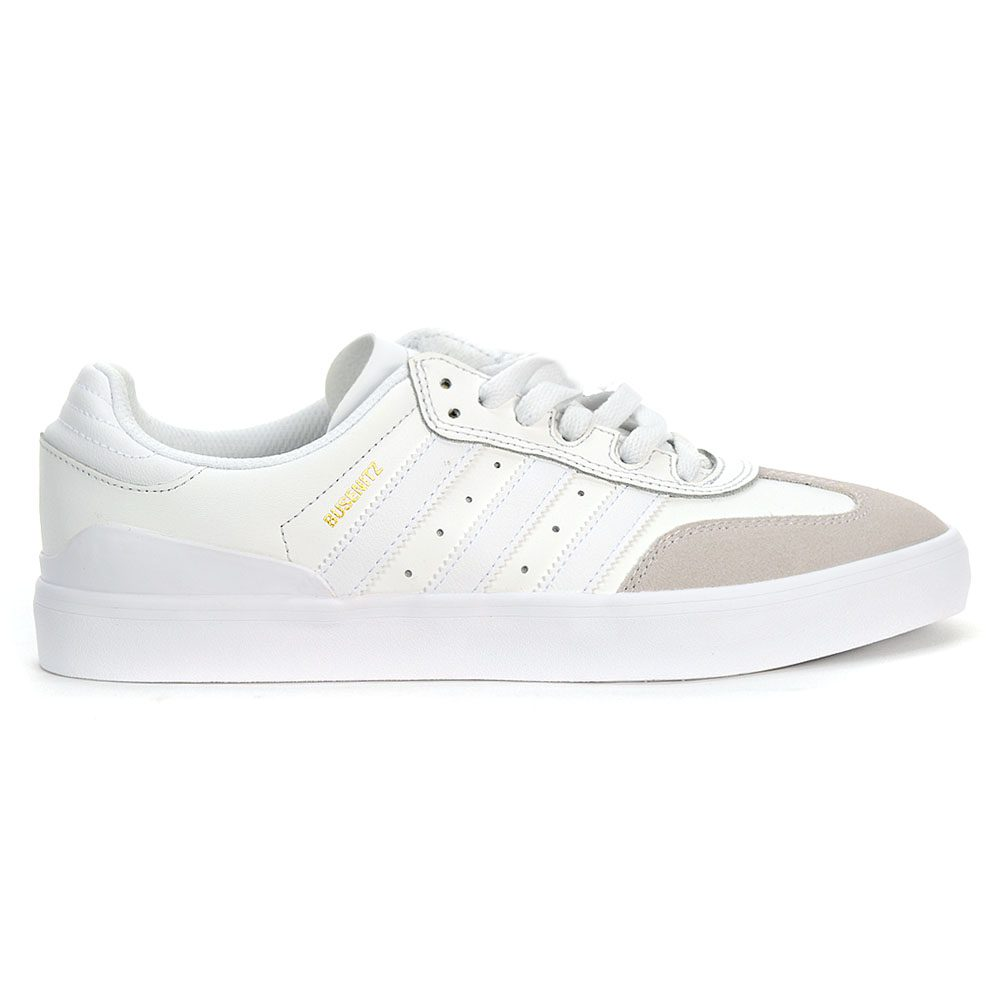 buy new images of exquisite style Adidas Men's Originals Busenitz Vulc RX Crystal White/Gold ...