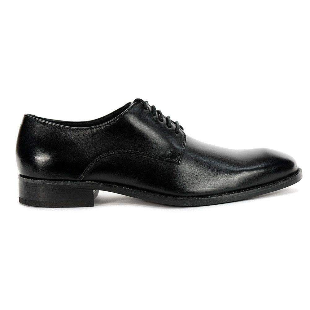 Williams Plain Toe Oxford Shoes Black