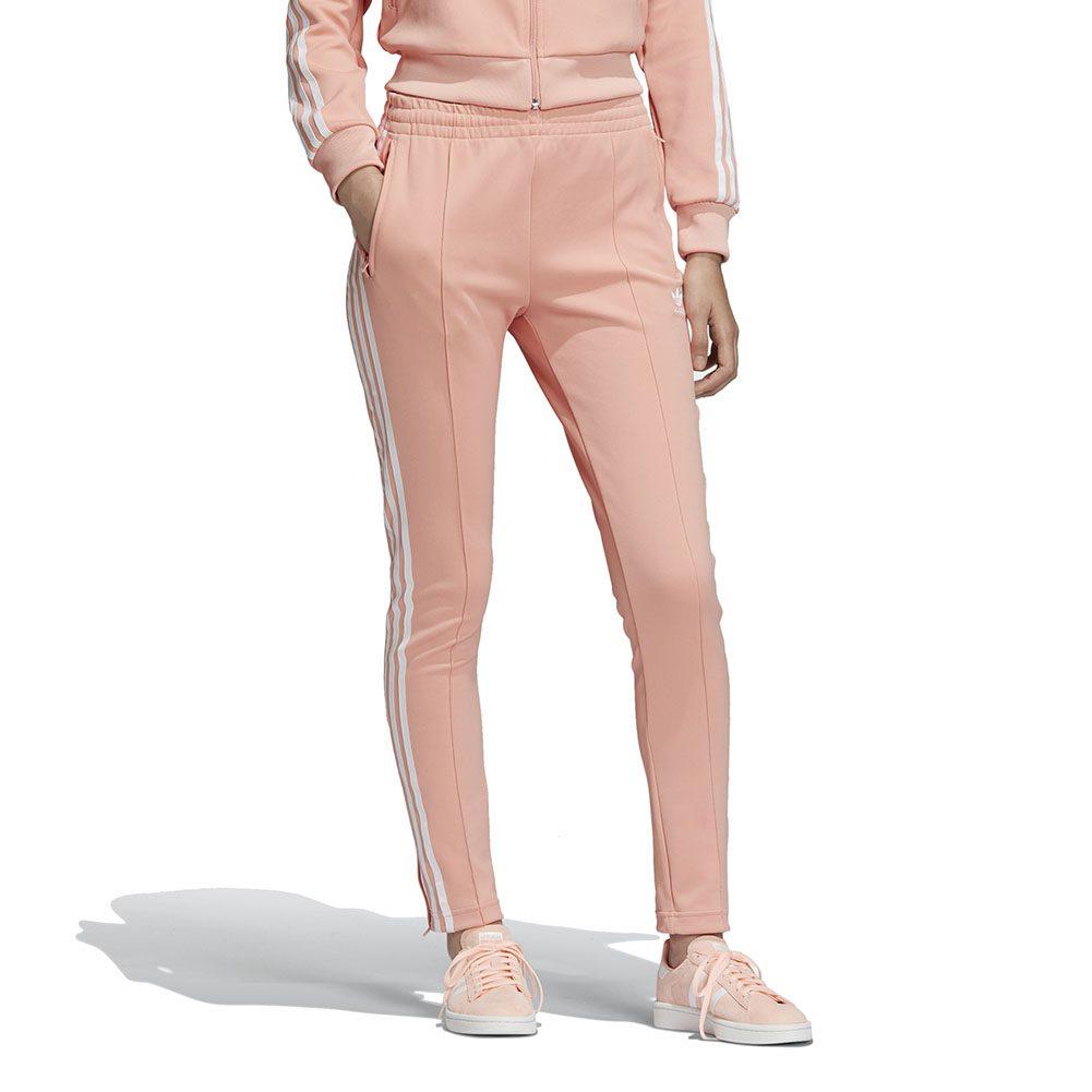 Details about Adidas Originals Women's SST Track Pants Dust Pink DV2593 NEW