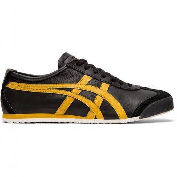 ASICS Men's Onitsuka Tiger Mexico 66 Black/Honey Gold Sneakers 1183A201.001